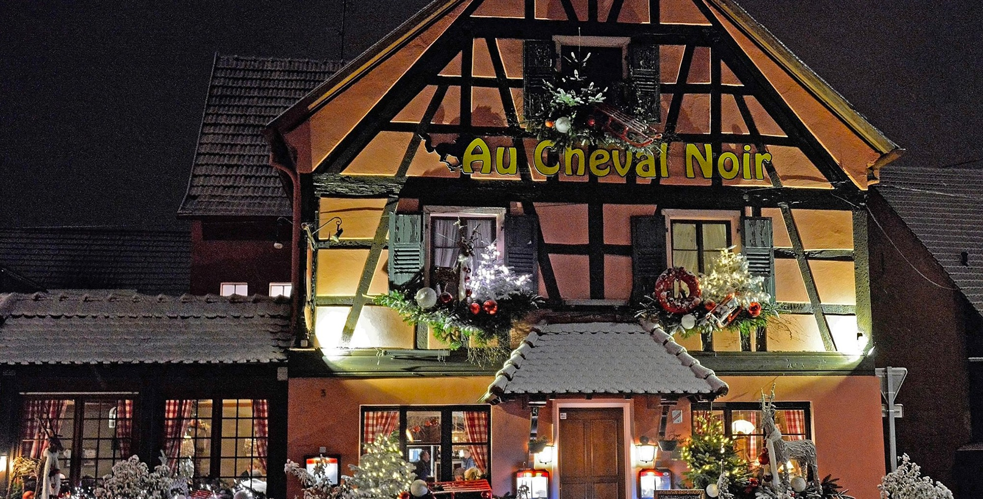 Restaurant Au Cheval Noir Herrlisheim - Photo exterieur