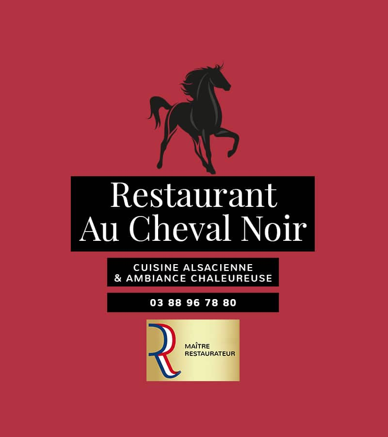 Restaurant Au Cheval Noir - Slider mobile